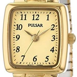 Pulsar Women's Goldtone Champagne Dial Watch
